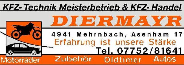 DIERMAYR KFZ - Technik Meisterbetrieb & KFZ - Handel Mehrnbach