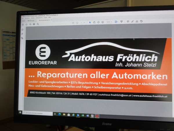 Autohaus Fröhlich Kirchbach in Steiermark